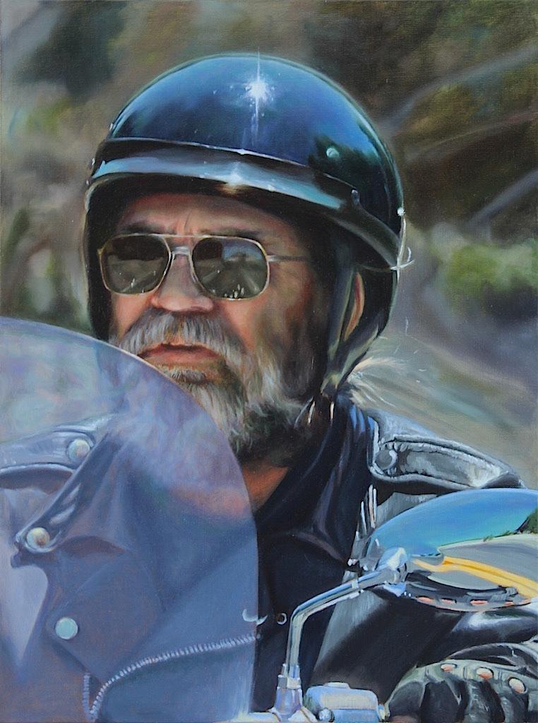 American Biker #12 WIP by Maciesowicz