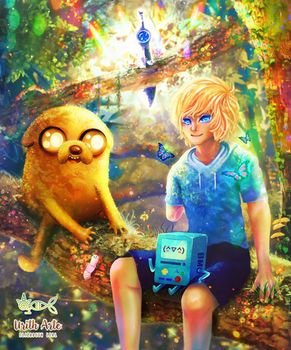 Come along with me   Adventure Time