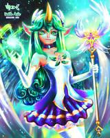 Star guardian Soraka - League of Legends by UrithArte