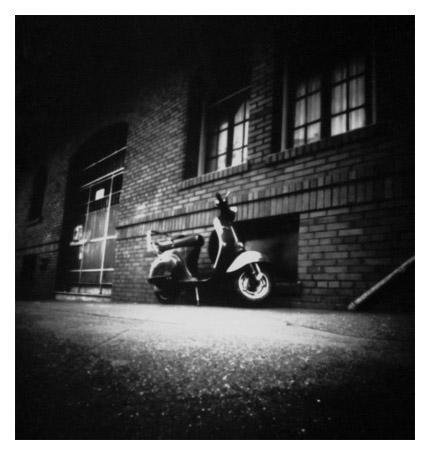 Pinhole Scooter by shmoo