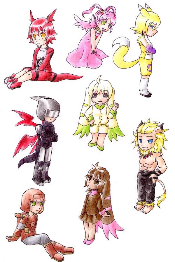 Digimon Tamers by nya-nannu on DeviantArt