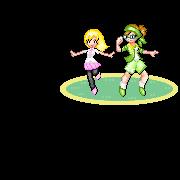 If We Were Pokemon Sprites by nya-nannu
