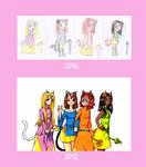 CATS: now and then