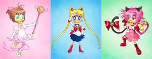 Collab: Magical Duck Girls