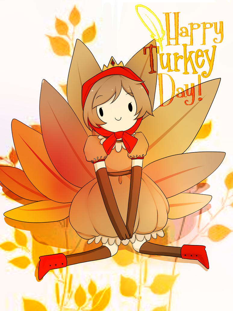 HAPPY TURKEYDAY!!! by Akari-dono