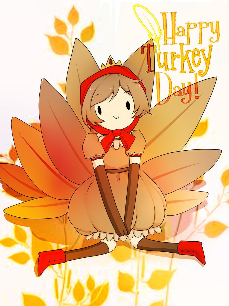 HAPPY TURKEYDAY!!! by Akari-dono