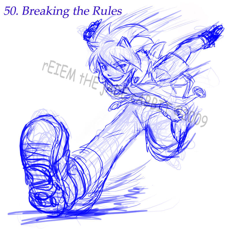 50. Breaking the Rules by ReimeiJCabbit