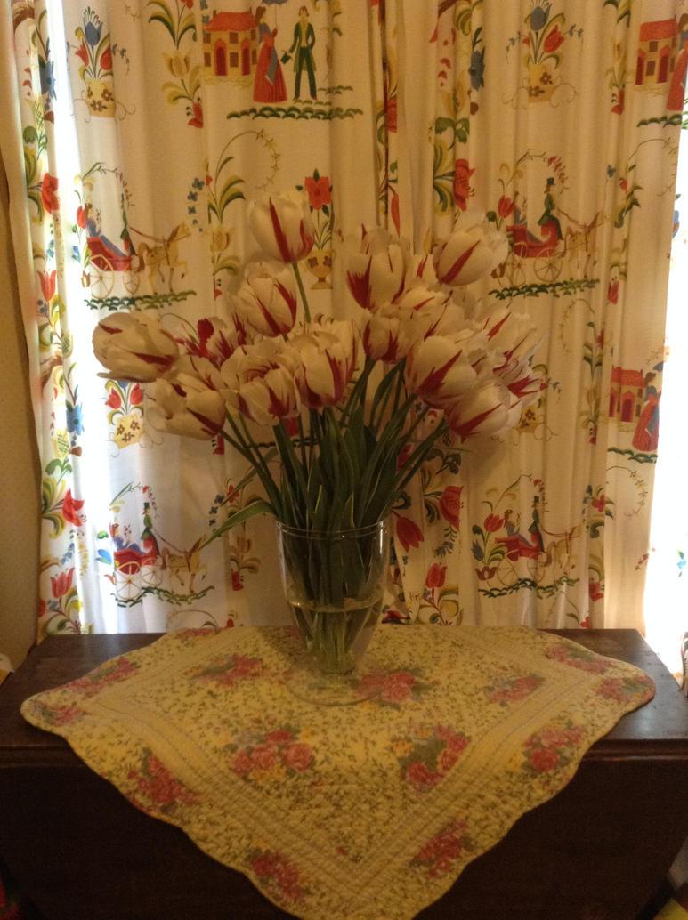 Tulips by jadelionLE08