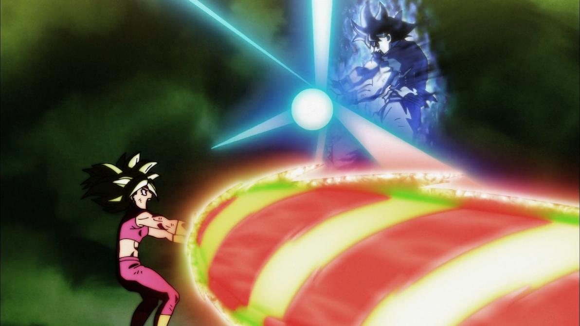 Goku Vs Kefla Kamehameha In The Face By Mauri094 On