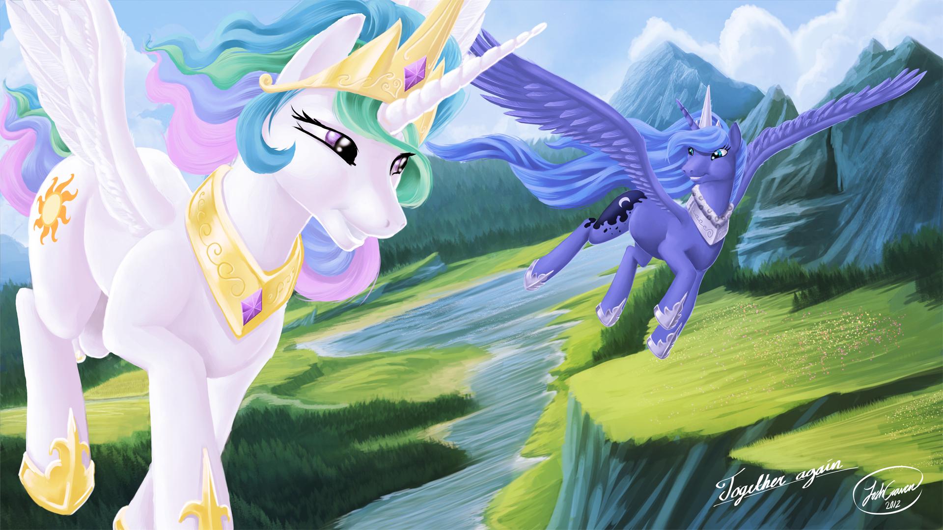 Princess Celestia And Princess Luna By JoshCraven On ...