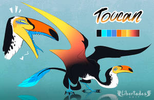 Toucan Wyvian [CLOSED] by Libertades