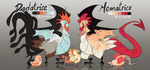Cockatrice Wyvians [AUCTION OPEN] by Libertades