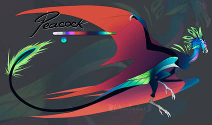 Peacock Wyvian [CLOSED]