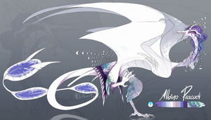 Albino Peacock Wyvian [CLOSED]