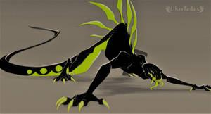 Angry gecko