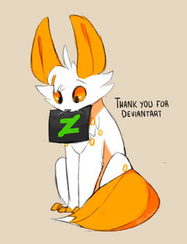 Thank you for DeviantArt
