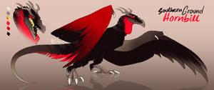Ground Hornbill Wyvian [CLOSED]