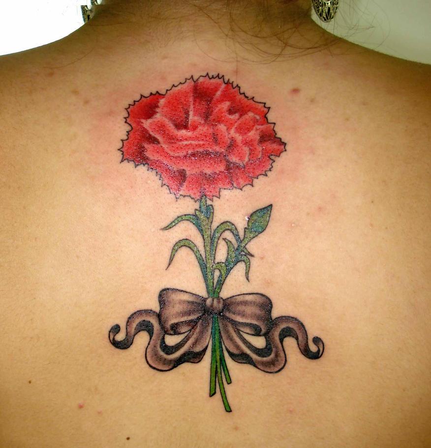 Carnation Flower Tattoo: Carnation Tattoo By Rsantanna On DeviantArt