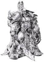 wh40k emperor by dannycruz4