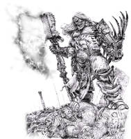 Norse Tech Warrior by dannycruz4