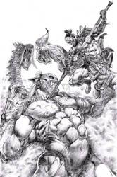 Oni Commission by dannycruz4