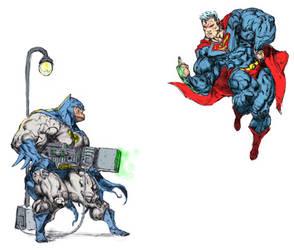 batman v superman by dannycruz4