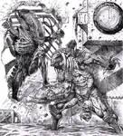 Alien vs. Predator by dannycruz4