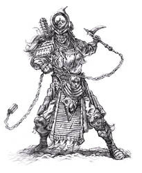 Female Samurai Warrior by dannycruz4