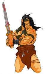 Conan Color Sketch