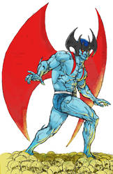 Devilman Color Sketch