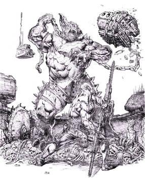 Nexus Helot battle 2