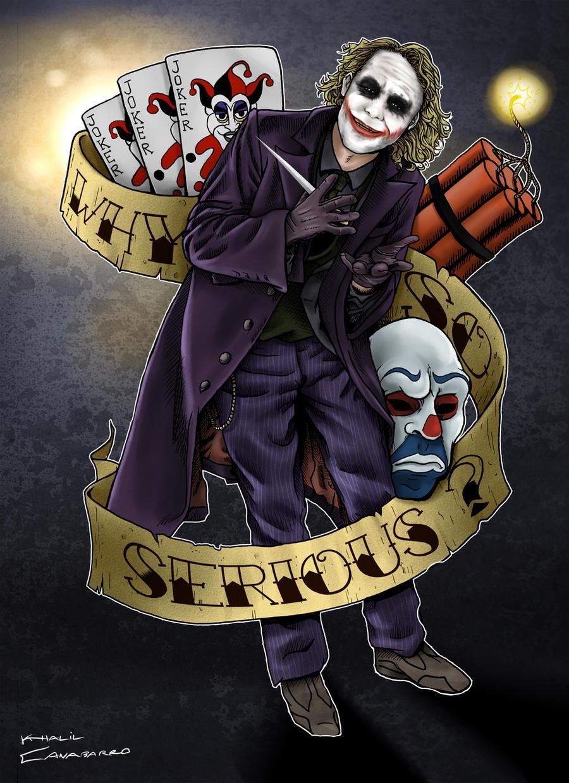 Joker Tattoo Commission By Chronokhalil On Deviantart