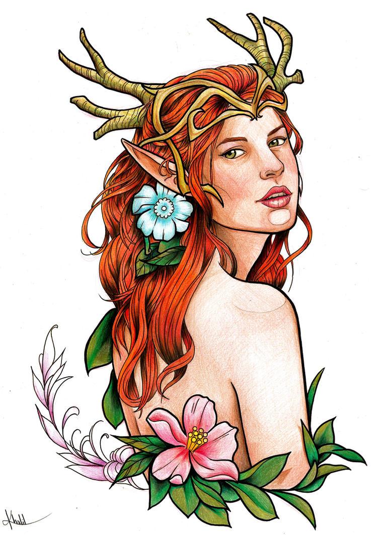 Lady Keyleth of the Air Ashari by Chronokhalil