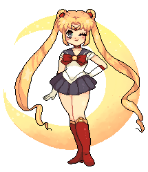 sailor moon by solarsign