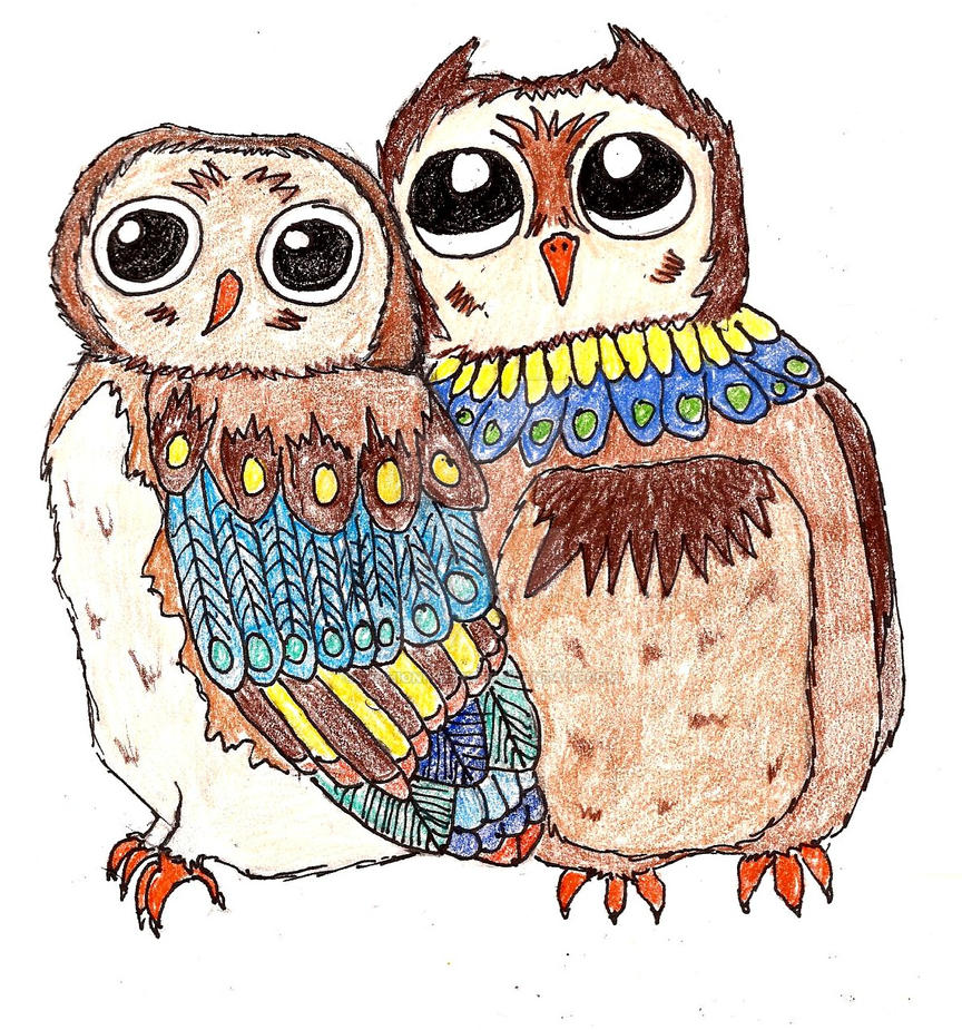 Bohemian Owls by FashionFreak25