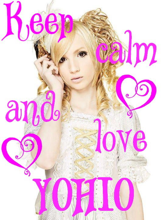 Keep calm and love YOHIO by Sinjusha