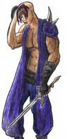 Depressed Swordsman by xaerius