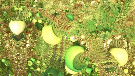 Agaricalia Wallpaper by NoEyedSquareGuy