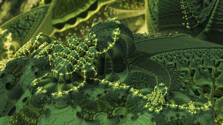 Biogenesis 1 by NoEyedSquareGuy