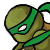 Turtle icon Green by Sorinda
