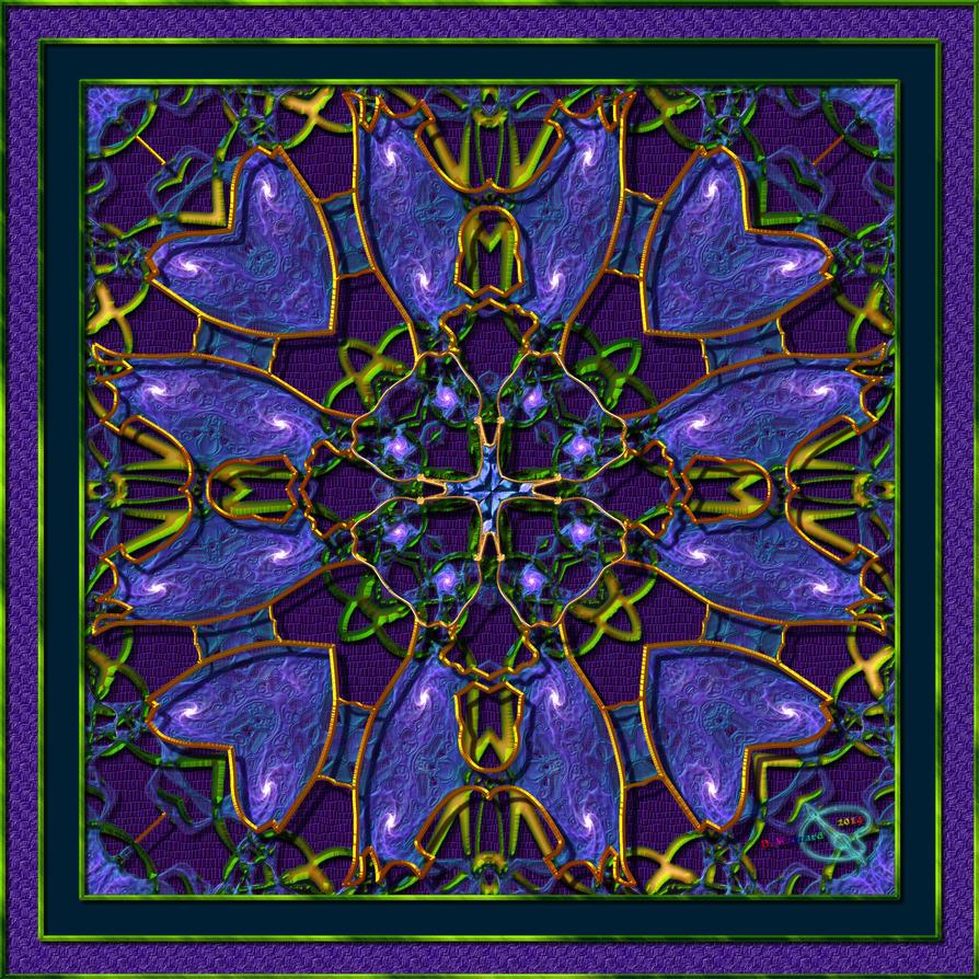 20110110-SE-Deep-Purple-Zoom-Mandala-v19 by quasihedron