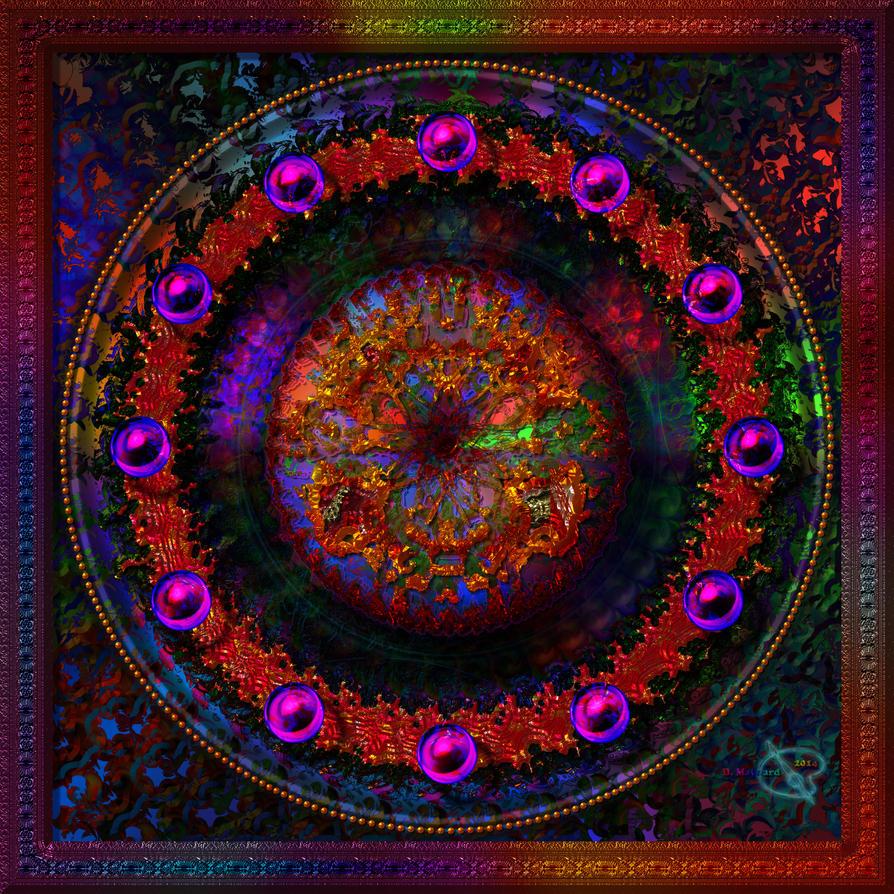 20141110-Fractaline-Brushed-Mandala-v22 by quasihedron