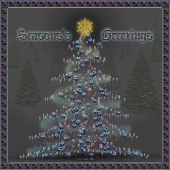 20151221-Holiday-Snow-Tree-v19 by quasihedron