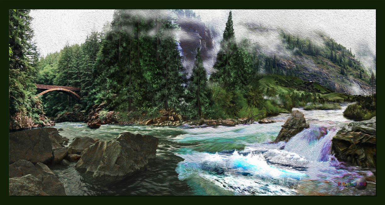 QH-20180929-Mountain-River-Rapids-Surge-v19 by quasihedron