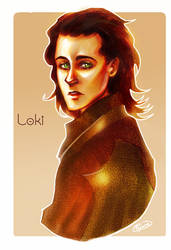Loki by Psyche-Evan