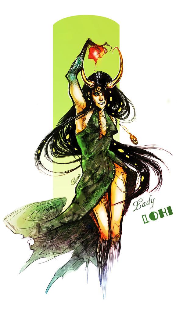 Lady Loki by Psyche-Evan