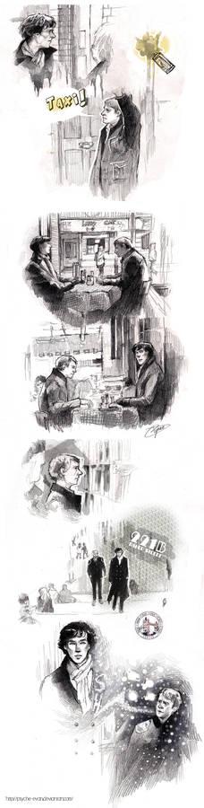 Sherlock Sketches