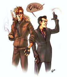 Jim Moriarty and Sebastian Moran