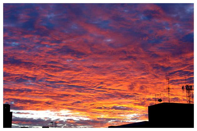 Fire on the Sky by maxholanda