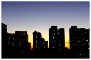 Fortaleza Sunset Skyline